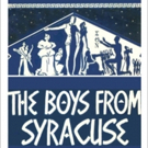 THE BOYS FROM SYRACUSE Begins Performances Tomorrow Off-Broadway Photo