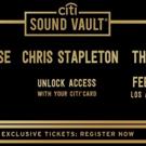 P!NK, Muse and Chris Stapleton to Headline Citi Sound Vault Shows