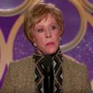 VIDEO: Carol Burnett Receives the Inaugural Carol Burnett Award at the GOLDEN GLOBES