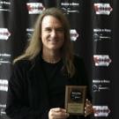 Grammy Award Winning Megadeth Bassist David Ellefson Inducted Into IOWA ROCK N' ROLL HALL OF FAME