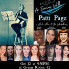 Green Room 42 Hosts AN EVENING WITH PATTI PAGE Photo
