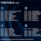 Schedule Announced for Time Warp 2018