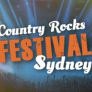 Country Rocks Festival Sydney Announce Playing Times & Event Information Photo
