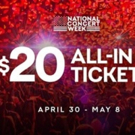 Live Nation Launches National Concert Week With $20 All-In Ticket Offer Celebrating Kickoff to Summer Season