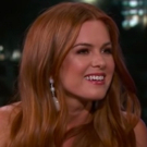 VIDEO: Isla Fisher Talks Jeremy Renner and Her Love For Mariah Carey on Jimmy Kimmel  Video