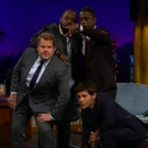 VIDEO: James Corden Forms The Next Big Boy Band With Brown, Henry, and Marsden