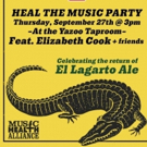 Heal the Music Party feat. Elizabeth Cook and Friends at Yazoo Taproom 9/27 Photo
