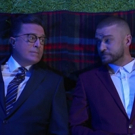 VIDEO: Justin Timberlake & Stephen Colbert Ask the Big Questions on LATE NIGHT Video