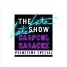 New Christina Aguilera Carpool Karaoke To Headline CBS THE LATE LATE SHOW CARPOOL KARAOKE PRIMETIME SPECIAL 2018