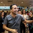Photo Flash: Lin-Manuel Miranda Arrives In Puerto Rico For HAMILTON