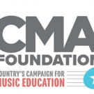 The CMA Foundation's Music Teachers of Excellence Awards Event Set for Tuesday, May 8