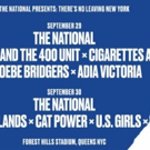 The National Release Daily Schedules for 'There's No Leaving New York'