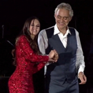 Andrea Bocelli and Lola Astanova in THE JOURNEY TO THE THEATRE OF SILENCE Released Today