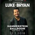 Citi / AAdvantage Presents Luke Bryan At Hammerstein Ballroom