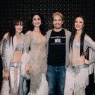 Photo Flash: Lin-Manuel Miranda and Hillary Clinton Visit THE CHER SHOW