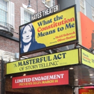 Up On the Marquee: WHAT THE CONSTITUTION MEANS TO ME Photo