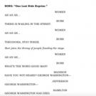 LISTEN: Lin-Manuel Miranda Releases Demo For Washington's Death Song 'One Last Ride Reprise' From HAMILTON