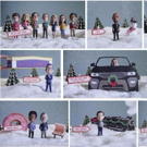 CBS Launches Playful 'Bobblehead' Holiday Campaign Featuring Series Stars