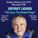 Jeffrey Lesser Stars In LIFE UPON THE WICKED STAGE Photo