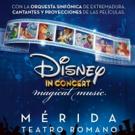DISNEY IN CONCERT viajará al Teatro Romano de Mérida