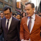 VIDEO: Bryan Cranston and Stephen Colbert Take THE LATE SHOW's Studio Audience Through Times Square