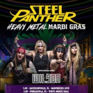 Steel Panther Announces First US Tour Dates Of 2019 WithHeavy Metal Mardi Gras Tour
