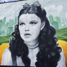 Theatre West and Artist Levi Ponce Celebrate Judy Garland in New Mural