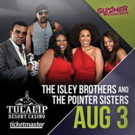 New Seats Just Released for The Isley Brothers and Pointer Sisters at Tulalip Amphitheatre