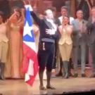 VIDEO: Lin-Manuel Miranda Waves a Puerto Rican Flag at Opening Night of HAMILTON