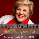 Kaye Ballard Chats Her Long Career Ahead of Appearance at the Albuquerque Little Theatre This Month