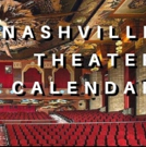 SAVE THE DATE: Nashville Theater Calendar for October 15, 2018