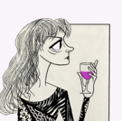 BWW Exclusive: Ken Fallin Draws the Stage - Susan Sarandon in HAPPY TALK Photo