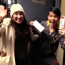 BWW TV Exclusive: Backstage Bite Spreads Holiday Cheer to Broadway Friends!