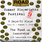 Road Theatre Company Presents Its 9th Annual Summer Playwrights Festival Photo