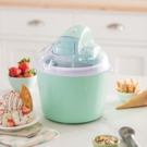 DASH Deluxe Ice Cream Maker and Shaved Ice Maker for Delicious Summer Treats