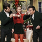VIDEO: Miley Cyrus Updates 'Santa Baby' with Mark Ronson and Jimmy Fallon