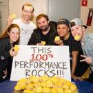 Photo Flash: It's a Beautiful Bikini Bottom Day! SPONGEBOB SQUAREPANTS Celebrates 100 Performances on Broadway!