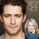 Tune in Live to 54 Below to Catch Selections from Matthew Morrison's Show Featuring K Photo
