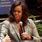 Photo Flash: Michelle Obama Stops By the Dallas Young Women's Leadership Conference Photo