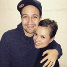 Photo: Lin-Manuel Miranda Visits ONCE ON THIS ISLAND