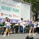 BWW TV: Watch Will Roland, George Salazar & More at Broadway in Bryant Park!