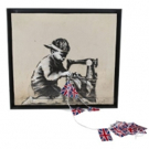 Banksy's Seminal Protest Artwork Slave Labour Heads To Julien's Auctions Street & Con Photo