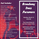 The Green Room 42 Presents 'Broadway Does Paramore'