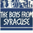 Musical Tonight! Opens its 20th Spring Season with THE BOYS FROM SYRACUSE