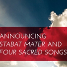 Opera Grand Rapids Announces STABAT MATER and FOUR SACRED SONGS Photo