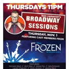 FROZEN Cast Comes To Broadway Sessions