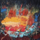 Vikash Jha To Display Recent Works of Abstract Expressionism in Clio Art Fair 2019 Photo