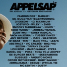 Appelsap Drops Full Bill For 2018 Plus Visual Campaign Is An Ode To Hiphop History Photo