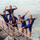 Photo Flash: The Flipper Boys Of Hong Kong MAMMA MIA! Visit Sai Wan Swimming Shed Photos