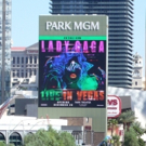 Up on the Marquee: LADY GAGA ENIGMA Live in Vegas Photos